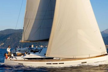 Alquila en Ibiza el Velero Sun Odyssey 509